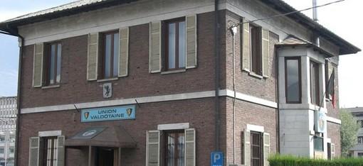 La sede dell'Uv in viale Partigiani ad Aosta
