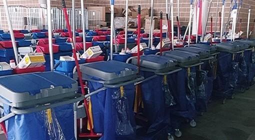A La Cascina l'appalto per le pulizie degli ospedali e dell'Usl VdA