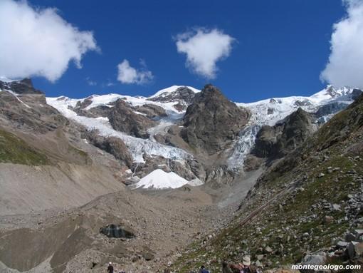 Sulle alpi i ghiacciai aumentano di numero perché si spezzettano e diventano più piccoli