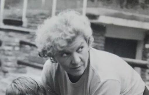 Iolanda Presa in una foto dei primi anni Settanta