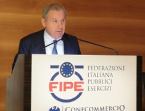 Lino Enrico Stoppani, Presidente di Fipe/Confcommercio
