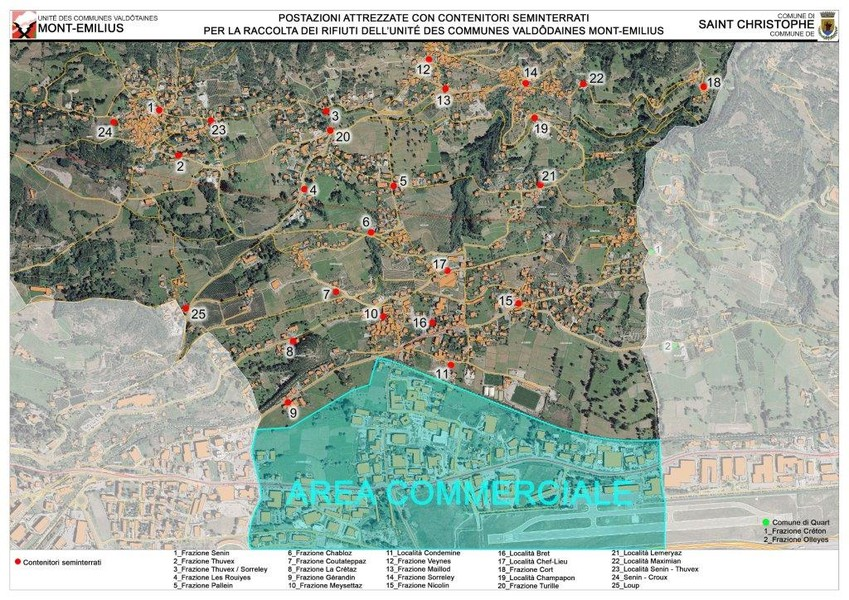 Saint Christophe: Al via nuovo sistema per la raccolta ...