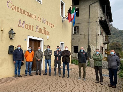 Unité des Communes Mont-Emilius: Confermati vertici; Martinet e Filippini
