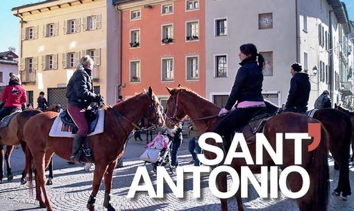 Aosta: I Commercianti di Via Martinet tengono viva la tradizione della benedizione degli animali