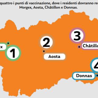 Da lunedì 26 aprile, la Valle d'Aosta torna in zona arancione