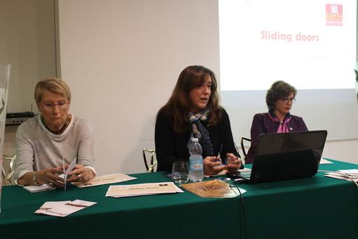Roberta Balbis (al centro), presidente della Zonta Club VdA