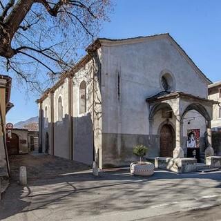 La chiesa di San Lorenzo ad Aosta