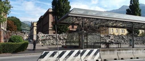 Aosta: Riapre martedì 22 il parcheggio in via Carrel