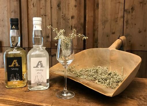 A Artemisia Génépy IG Valle d'Aosta targato Distillerie St.Roch
