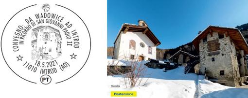 Introd: Un annullo postale per i 101 anni di Wojtyla, Papa Santo