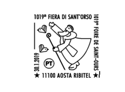 Filatelia: Annullo postale speciale per 1019^ Fiera di Sant'Orso