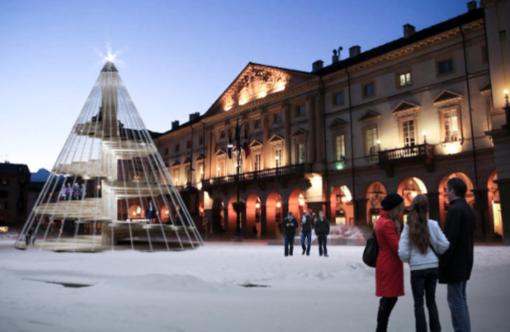 Aosta: Per Natale vie abbellite con 500 alberelli della Chambre