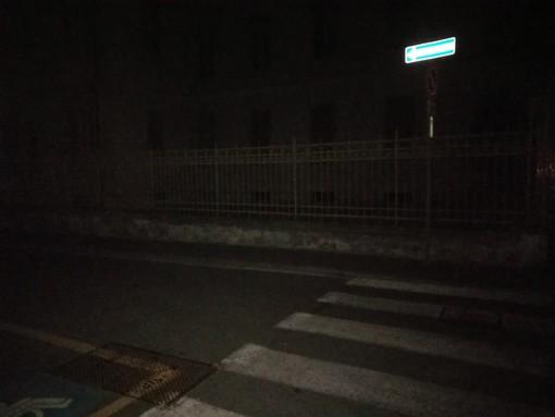 Una via di Aosta al buio