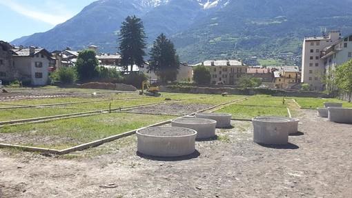 Un'area orti allestita per volontà politica dell'assessore ai servizi sociali, Luca Girasole, nella passata consiliatura