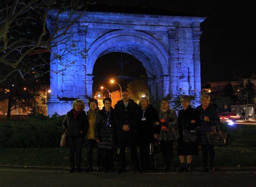 Arco d'Augusto e Porta Prætoria accendono l'attenzione sulla tutela dei più deboli