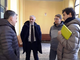 da sn. l'assessore Luigi Bertschy, il direttore Luca Zuccalà, il sindaco Marco Sucquet