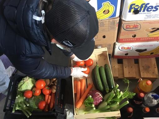 Da inizio contagio coronavirus consegnati a domicilio oltre 3mila kg di beni alimentari