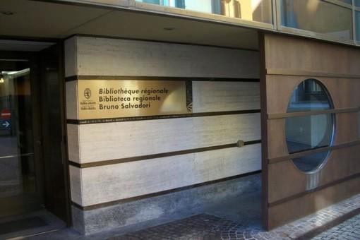 La biblioteca regionale di Aosta