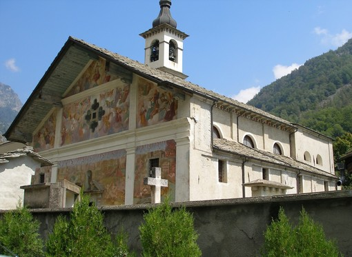 La chiesa di San Giacomo a Issime