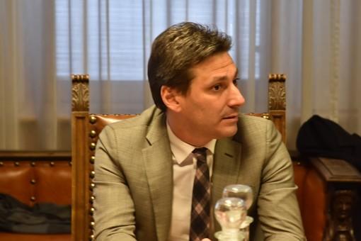 L'assessore regionale all'Agricoltura, Laurent Vierin