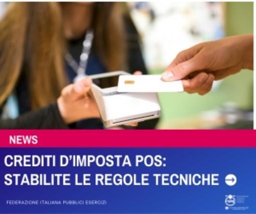 Crediti d'imposta POS: stabilite le regole tecniche