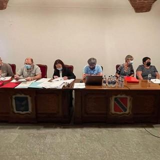 Un'adunanza del Consiglio comunale di Chatillon lo scorso giugno