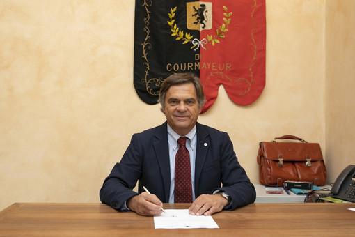 Il sindaco di Courmayeur, Roberto Rota