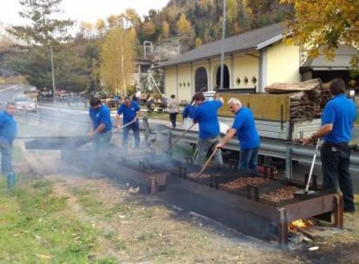 Raccolto castagne in calo del 30%