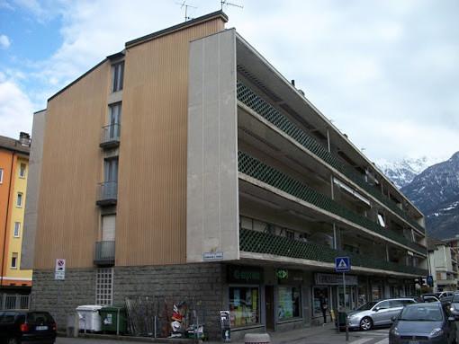 La casa di appartamenti in viale Conte Crotti ad Aosta progettata da Carlo Mollino