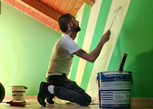 'P.g Decorazioni' di Piergiorgio Carere, quando l'arte si riflette sulle pareti di casa