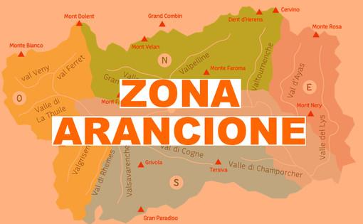 Italia tutta gialla da lunedì, solo la Valle d'Aosta resta arancione