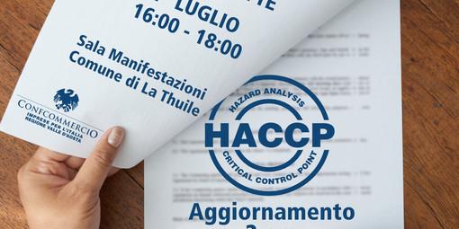 SPECIALE FORMAZIONE SUL TERRITORIO: H.A.C.C.P. AGGIORNAMENTO (2 ORE) A LA THUILE
