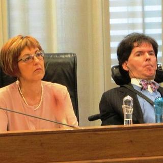 I consiglieri regionali di Rete Civica Chiara Minelli e Alberto Bertin