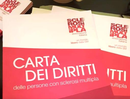 Aosta: Su proposta dell'assessore Girasole il Comune aderisce alla Carta dei Diritti Aism