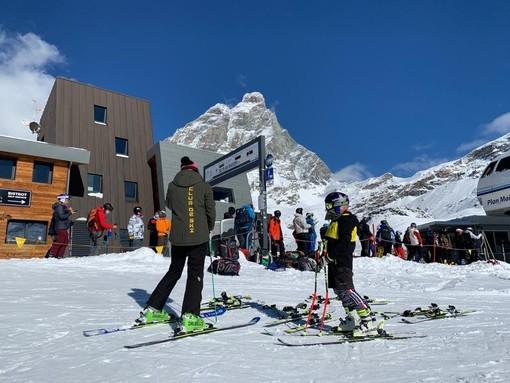 A Cervinia riparte sabato 16 ottobre la stagione dello sci