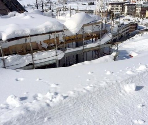 Pista da sci o cantiere? Accesa querelle tra la Cervino Spa e il residence dove abita Nicolò Bongiorno