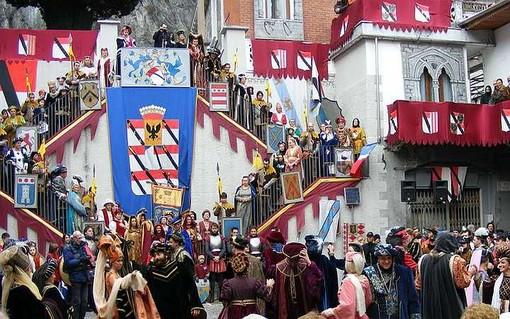 Carnevale storico di Verres, un viaggio nel 1400