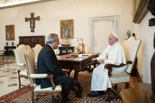 """Papa Francesco incontra il Segretario della Cisl Luigi Sbarra. """"Mettere al centro il tema del lavoro, della sua dignita' e sicurezza"""""""