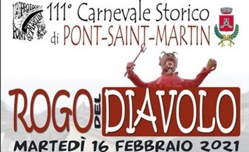 Pont-St-Martin: Nel Carnevale 'umiliato' dal Covid il Diavolo brucia comunque - DIRETTA VIDEO