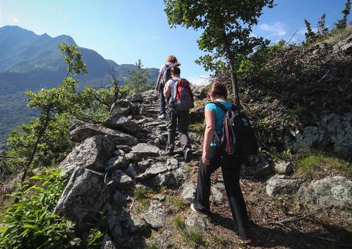 Parte Cammino Balteo, giro slow della Valle d'Aosta