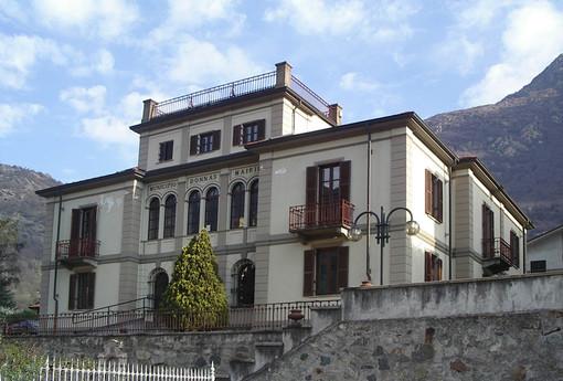 Il municipio di Donnas