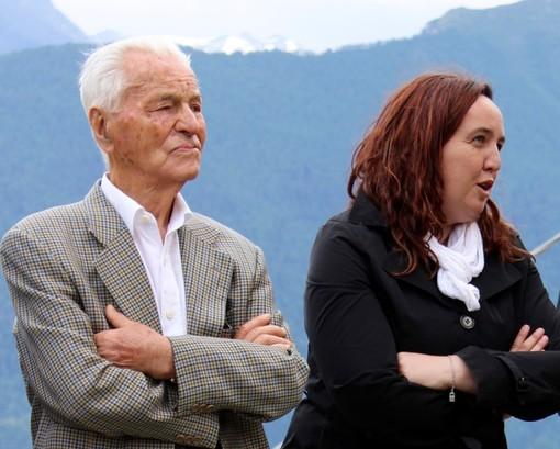Cesare Dujany ed Erika Guichardaz