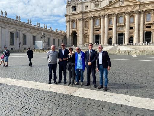 Da sn Mario Deffeyes, Corrado Jordan, Maddalena Lettry, Claude Duverney, Albert Lanièce e Ivo Collé