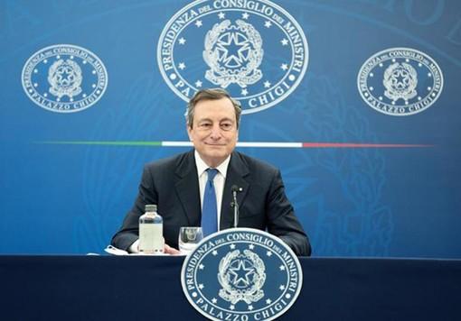 Draghi assicura precedenza per riaperture ad attività all'aperto - VIDEO