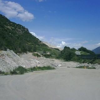La discarica di Montaz tra Chetoz e La Plantaz