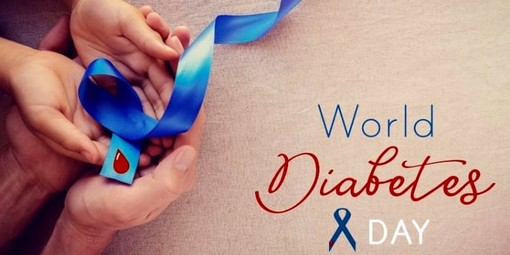 Anche la scuola ricordi con un nastrino azzurro la Giornata del Diabete