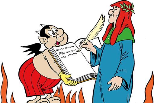 Il Forte di Bard 'Nel segno di Dante' tra arte e fumetto