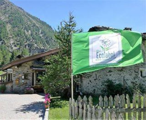 Marchio europeo di qualità ambientale per l'eco hotel La Barme di Cogne