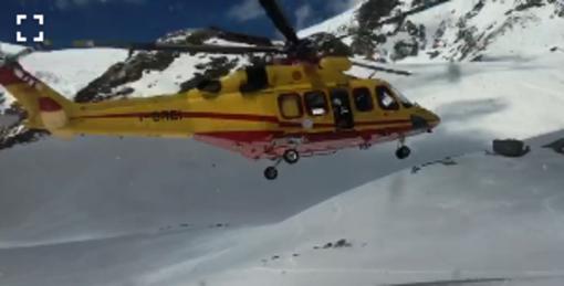 Giornata di gran lavoro per gli equipaggi del soccoso alpino valdostano