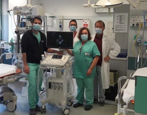 Dalla Finaosta un nuovo ecografo polmonare per l'ospedale Parini
